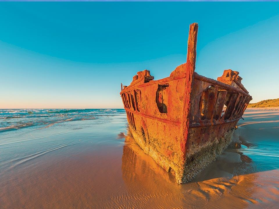 Maheno Shipwreck Fraser Island