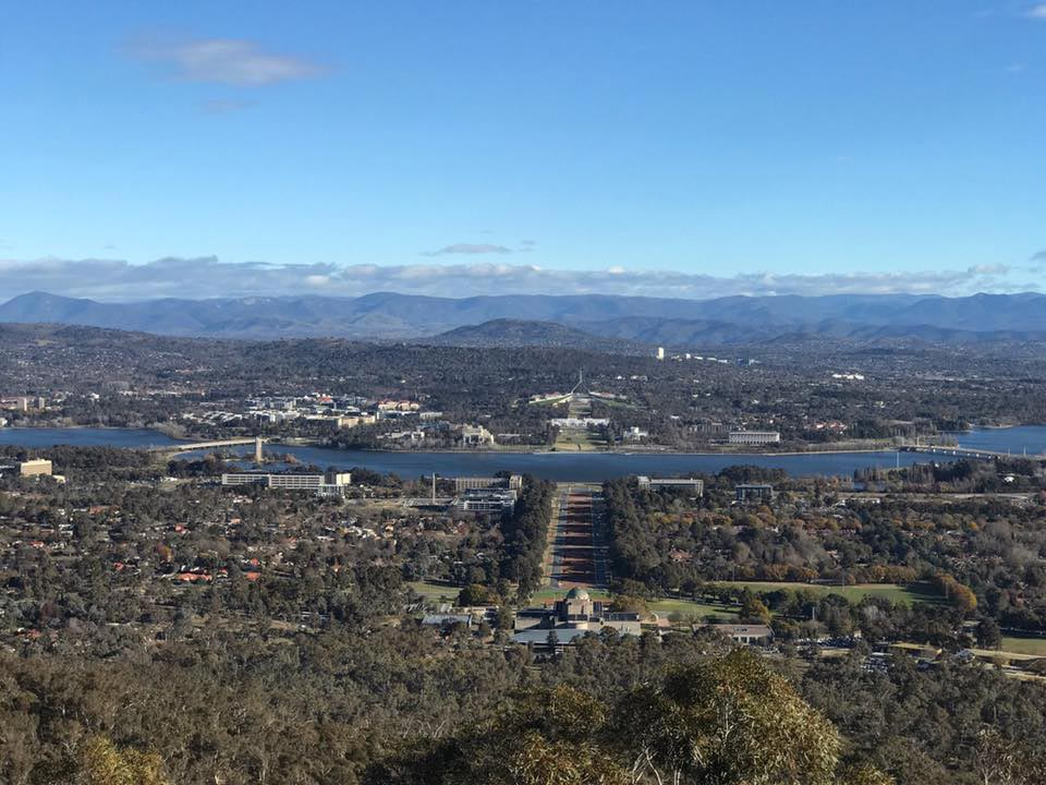 Top of Telstra Tower Canberra
